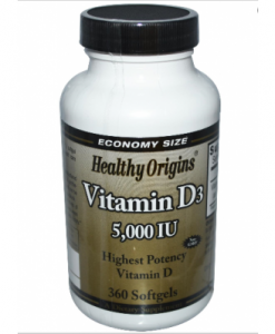 Healthy Origins hoge dosering vitamined3