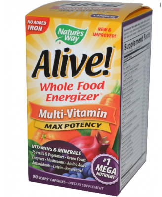 Multivitamine Alive van Natures Way