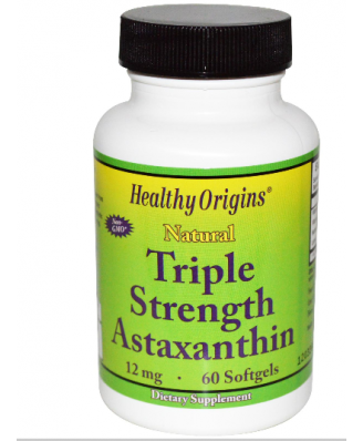 Asthaxanthin Triple Strength Healthy Origins